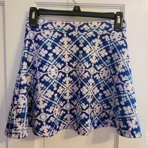 Colorful, short skirt